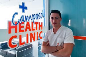 Juan Antonio Conesa Bastia at the camposol health clinic